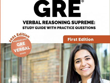 Book Review #176: GRE Verbal Resoning Supreme by Vibrant Publishers