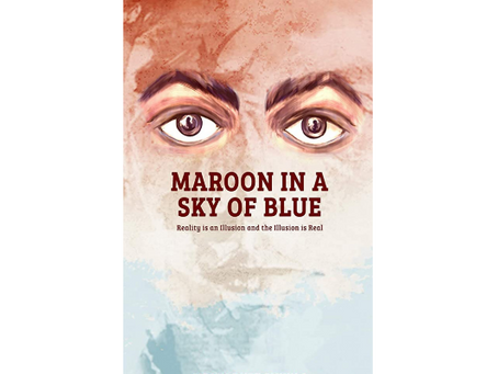 Book Review #140: Maroon in a Sky of Blue by Girish Dutt Shukla