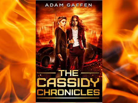 Book Review #37 : The Cassidy Chronicles by Adam Gaffen