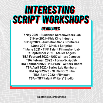 Interesting script workshops