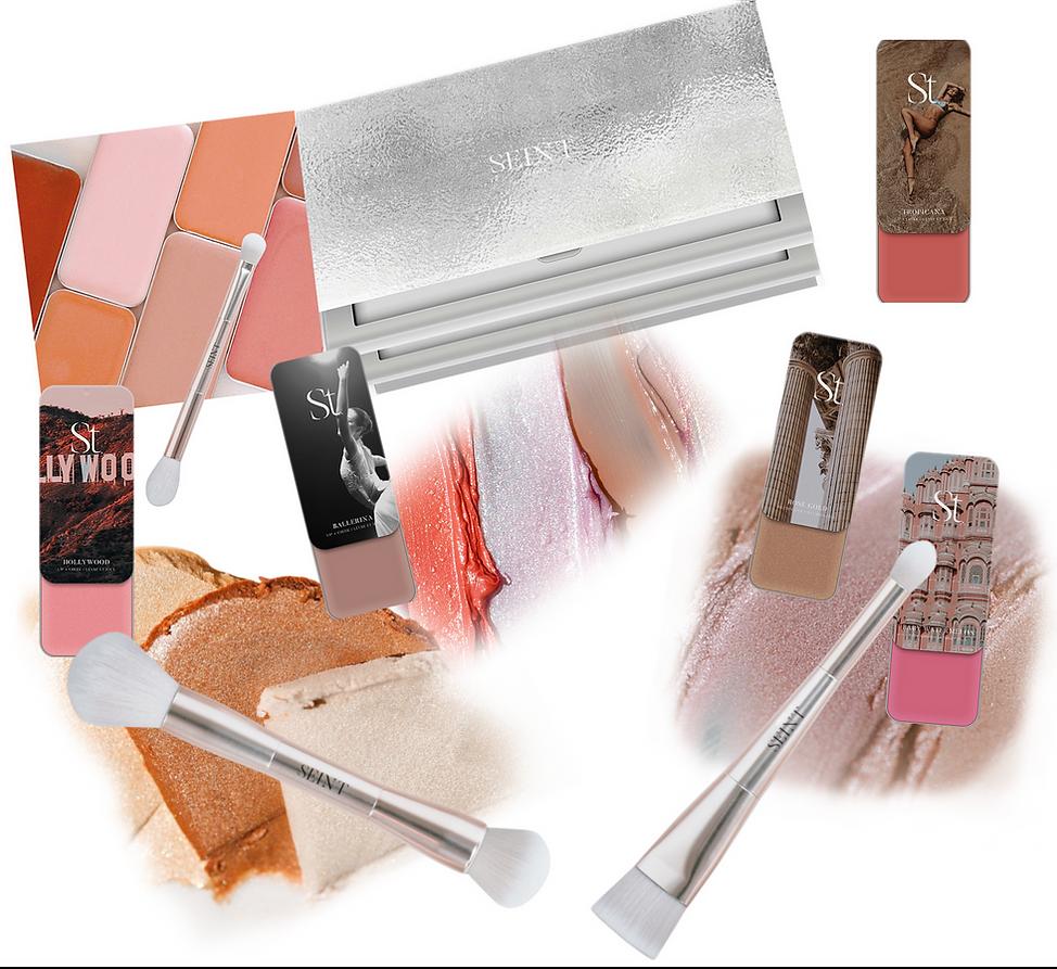 makeup collage SEINT Eloquently Emmie 2