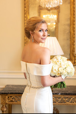 bride at the duke mansion 1 carolina rose photography llc 2021