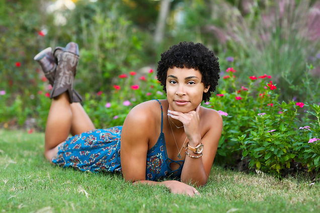 Jordyne in Butterfly Garden 1