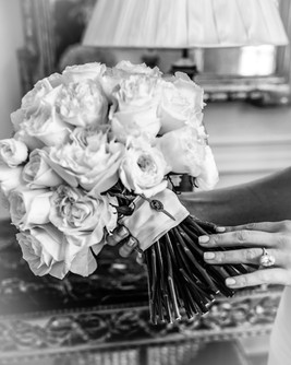 Brides boquet and ring at the duke mansion 1 carolina rose photography llc 2021