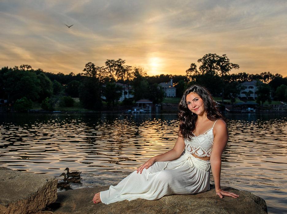 girl lake N image carolina rose photogra