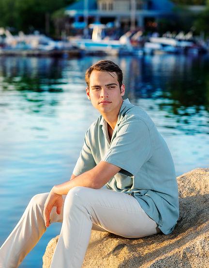 young man lake N image carolina rose pho