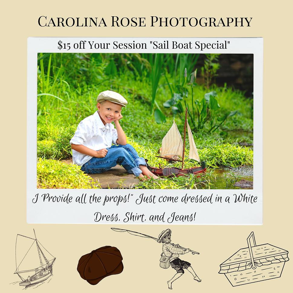5 25 21 Sail Boat Special Carolina Rose