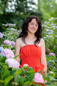 Senior girl portrait 6 21 1