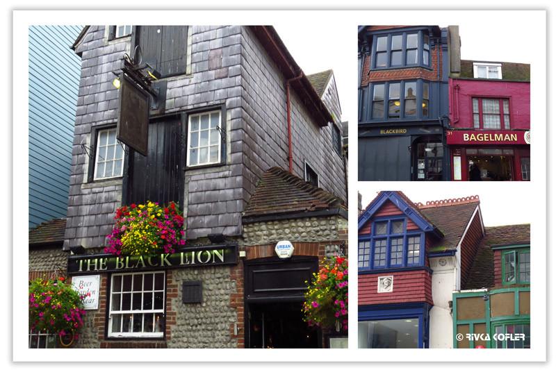 בתים צבעוניים
