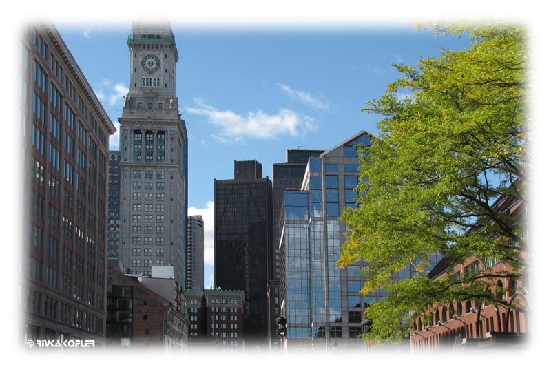 ארכיטקטורה בבוסטון