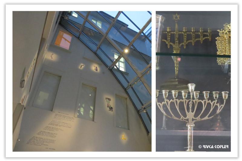 מוזיאון היהודים - חנוכיה