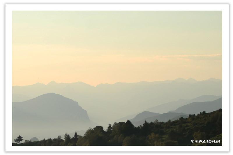 זריחה בהרים