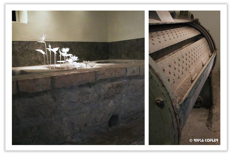 אמבטיות לצד מעגילה