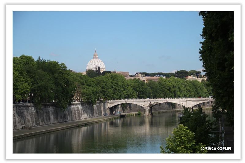 נהר הטיבר - רומא