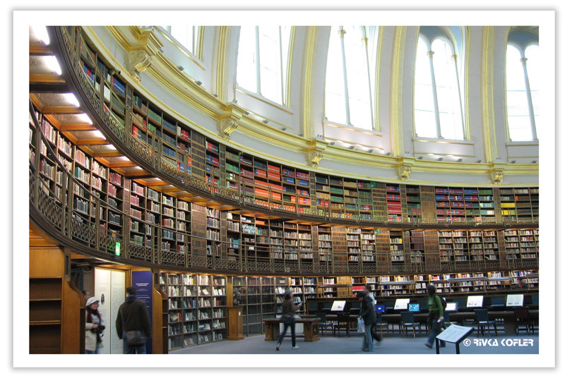 אולם הקריאה במוזיאון הבריטי