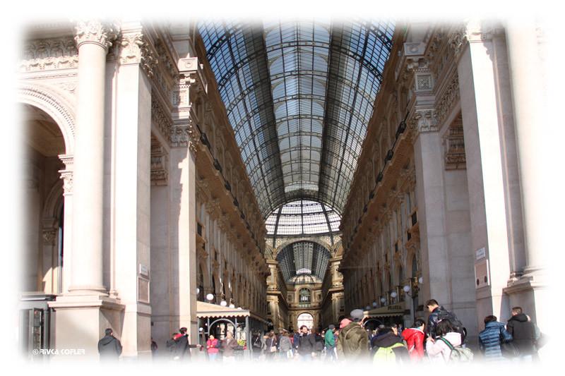 הכניסה לגלריה ויטוריו עמנואל השני