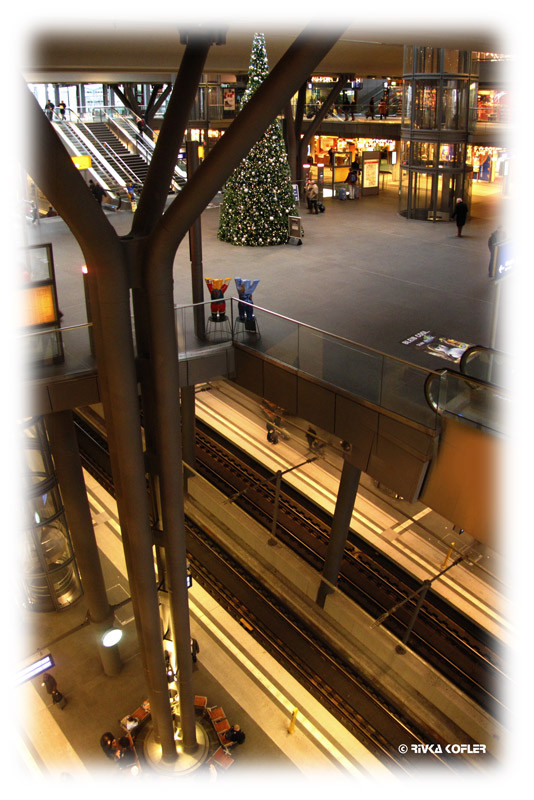 תחנת רכבת, עץ אשוח