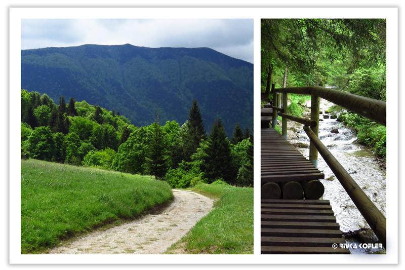 שבילי הליכה בטבע, סלובקיה