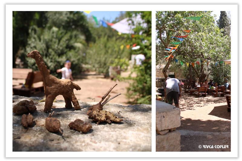 עבודת יצירה בגן