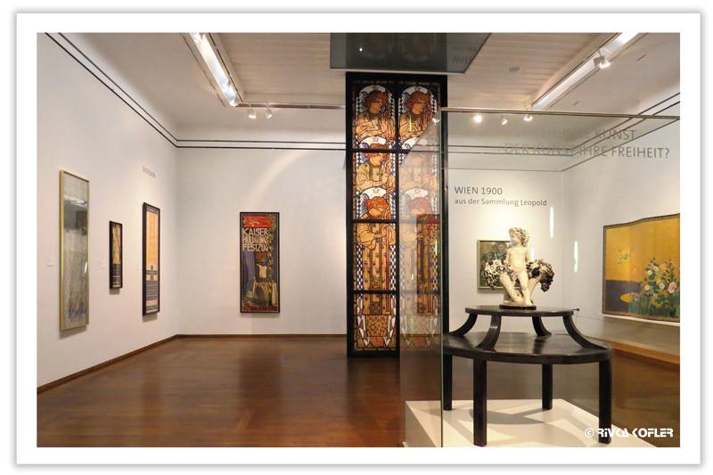 פוסטרים במוזיאון ליאופולד