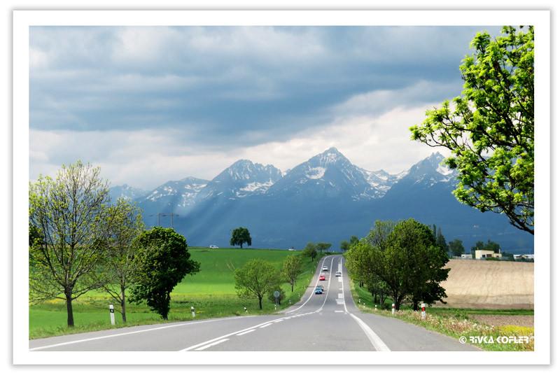 כביש מוביל להרי הטטרה