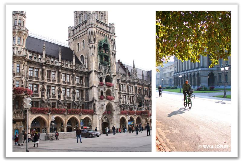 בית העירייה של מינכן, רוכב אופניים