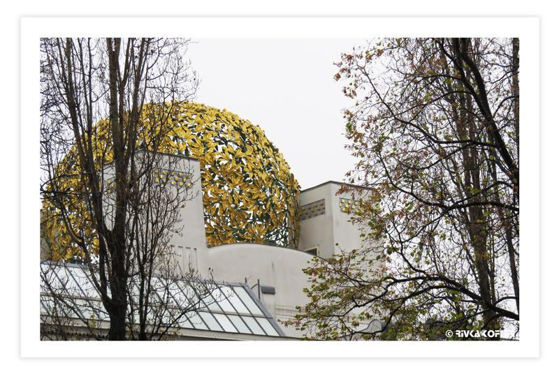 גג מוזיאון זסציון, וינה