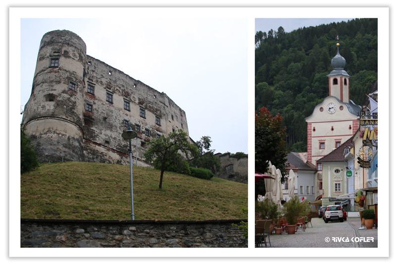 מצודה ורחוב בעיר