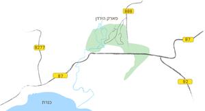 מפה, פארק הירדן