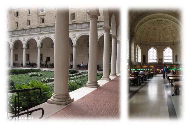 הספריה הציבורית בוסטון