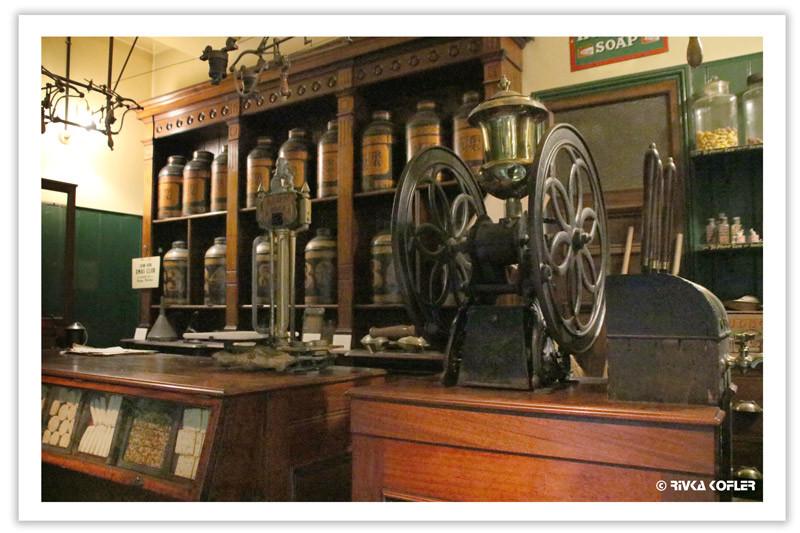 תצוגה של חנות במוזיאון לונדון