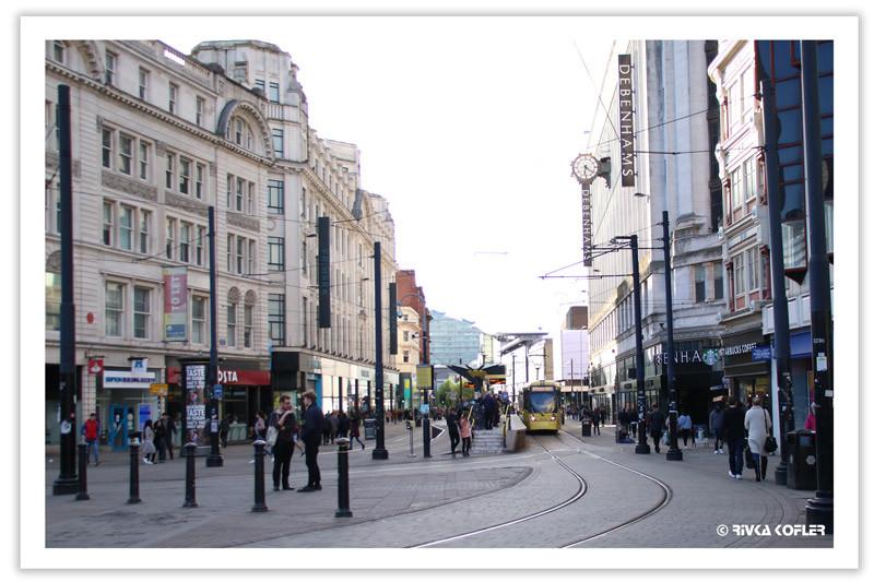 חשמלית ברחובות מנצ'סטר