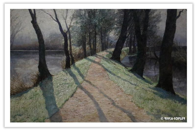 ציור של אולגה ויזינגר-פלוריאן