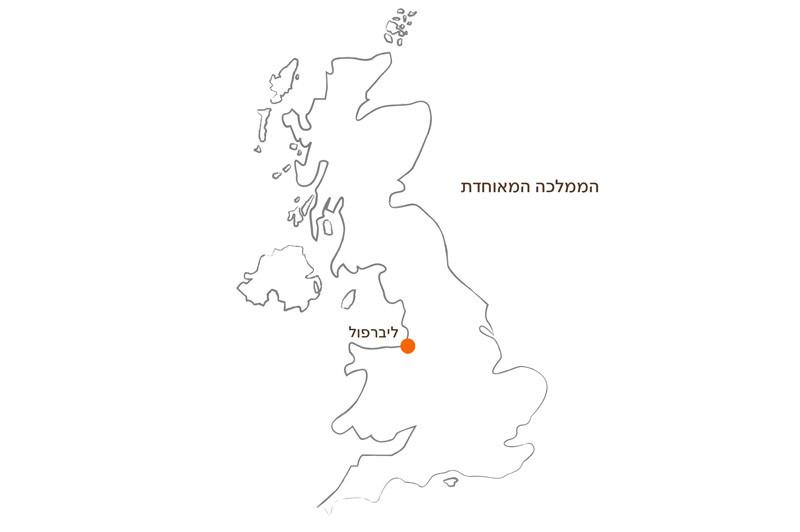 מפת הממלכה המאוחדת