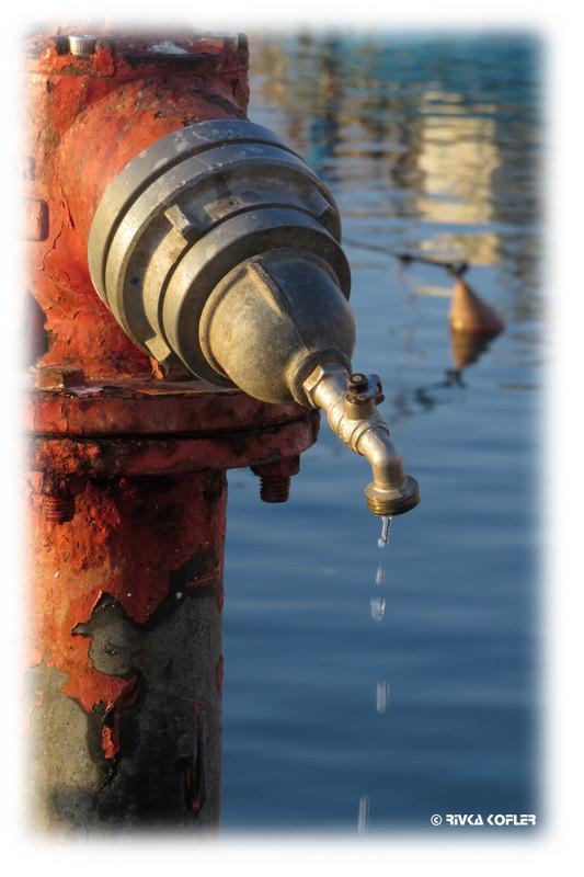 מים וחמצן לחלודה