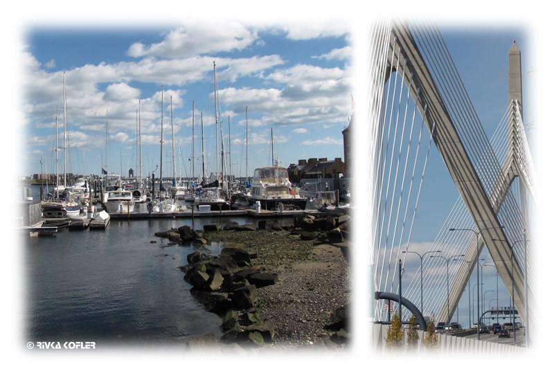 גשר קלטרווה ונמל בוסטון