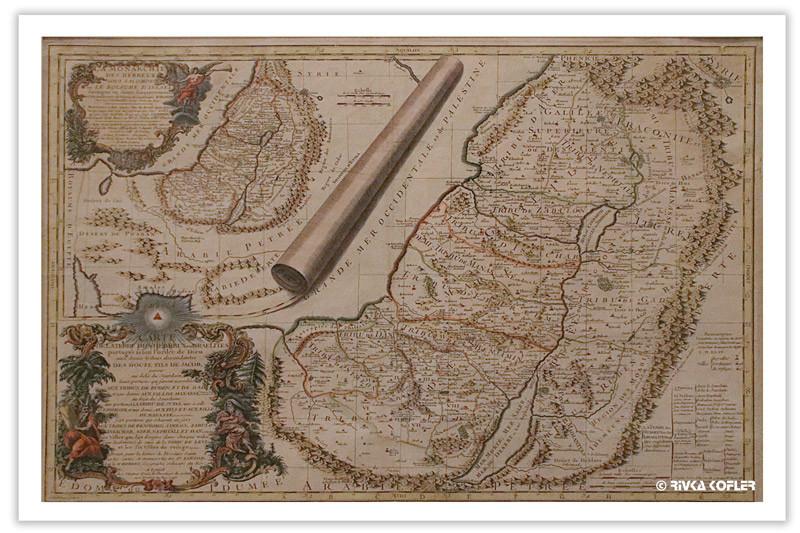 מפה מקושטת