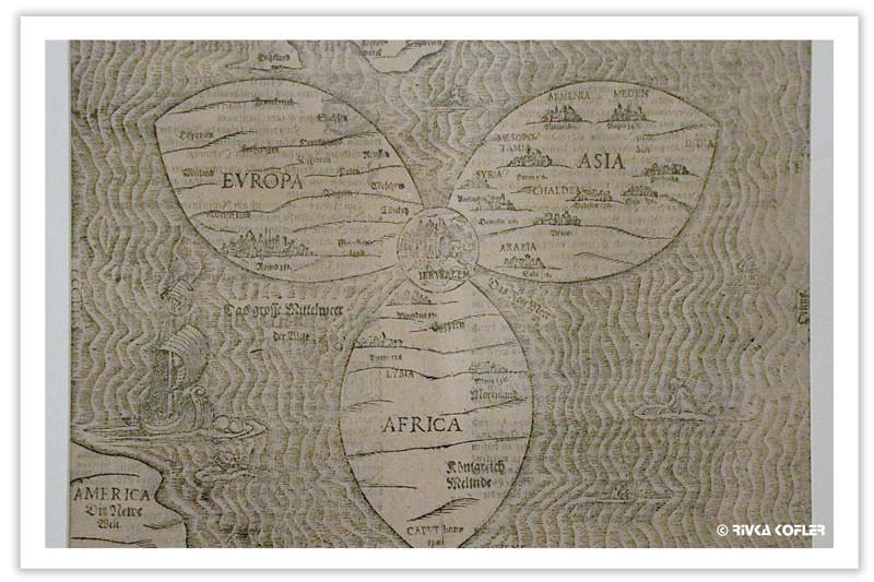 שלוש היבשות החשובות
