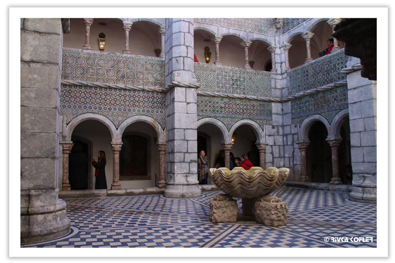 חצר מנזר פאנה