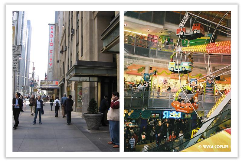 חנות צעצועים, בנין רדיו סיטי, ניו יורק