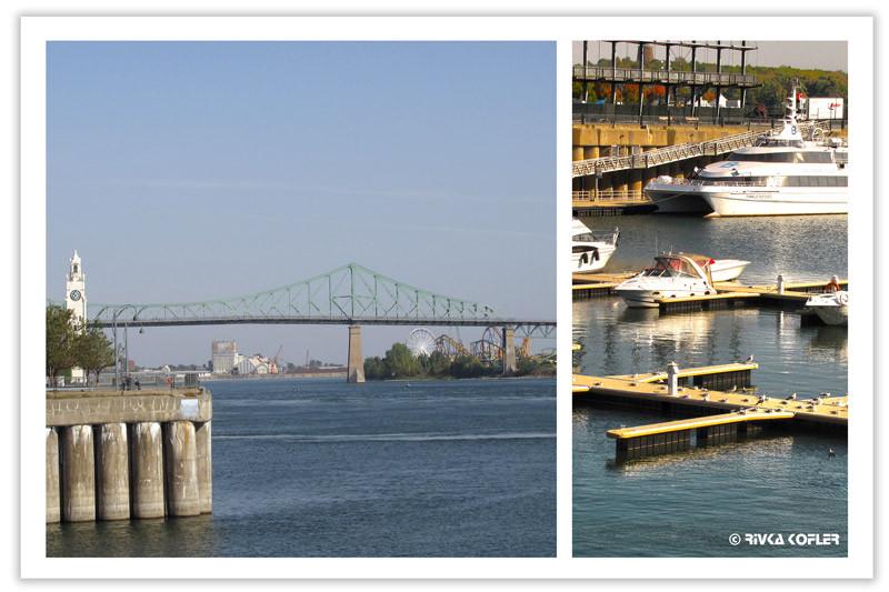 מעגן סירות וגשר