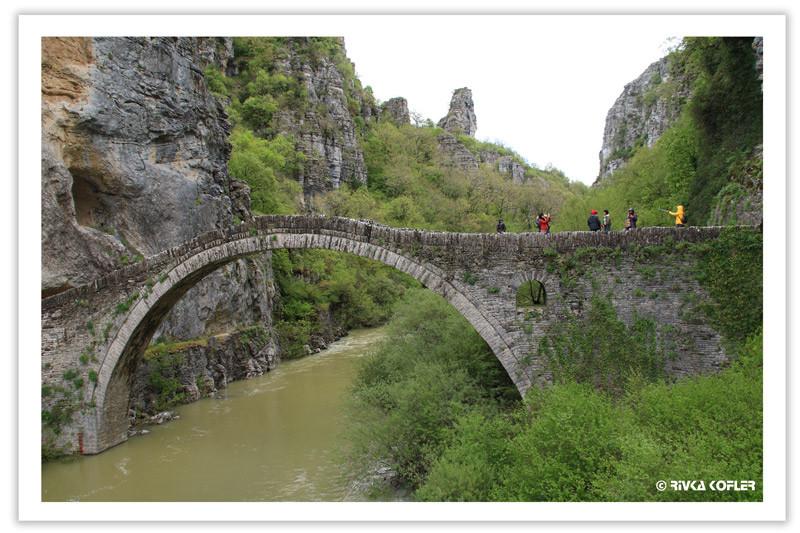 גשר אבן עתיק, יוון