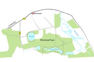 מפת פארק וונסטד, לונדון
