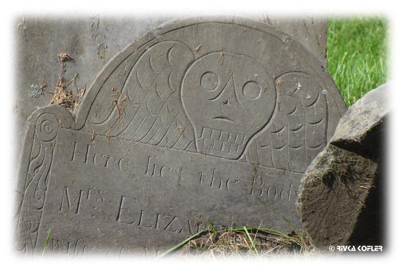 בקבר בבוסטון