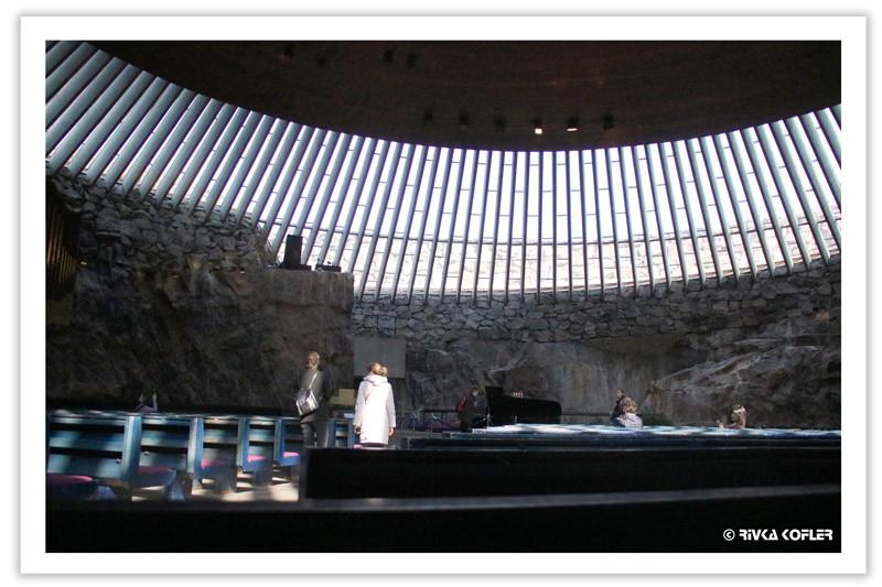 הלסינקי - הכנסייה החצובה בסלע