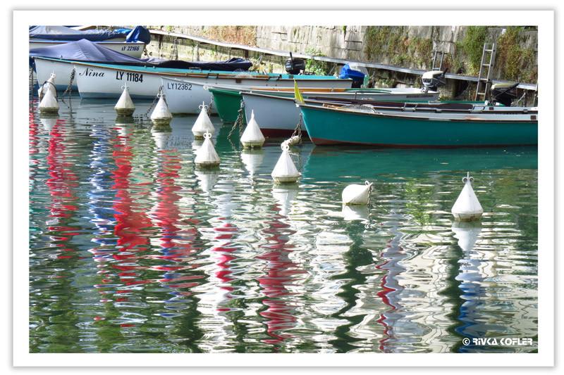 צורות המצופים במים