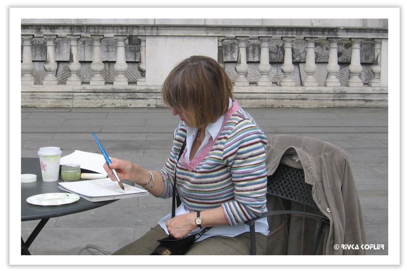 נשים בחוג לציור, לונדון