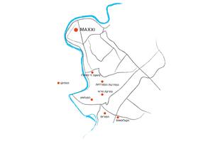 מפת הגעה למקסי
