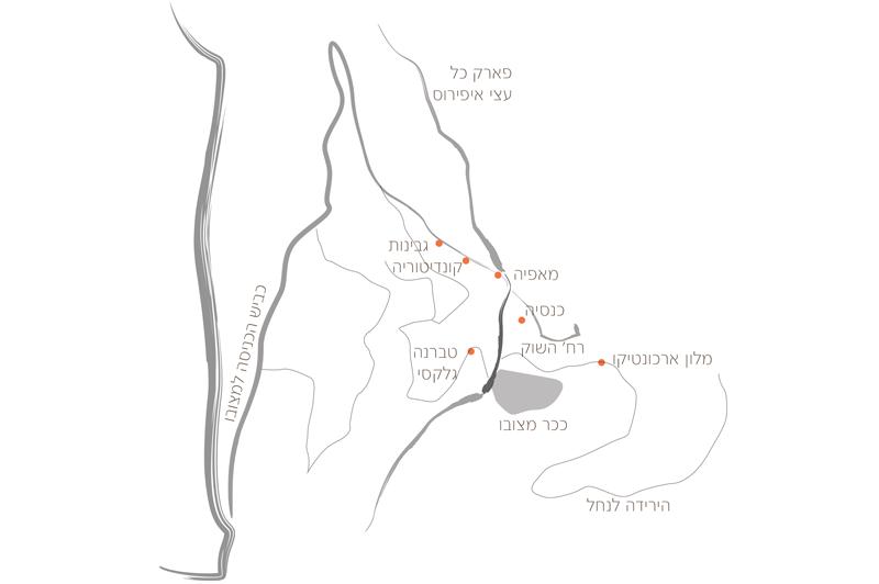 מפת מצובו