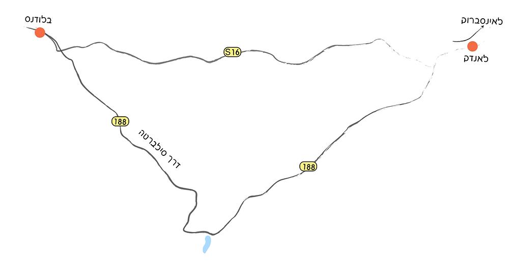 מפת סילברטה